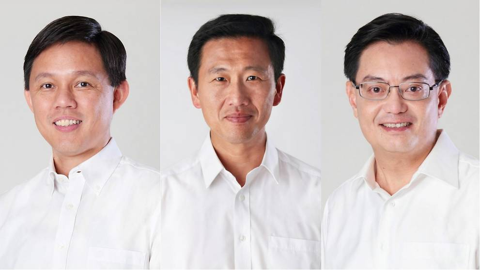 In profile: The men who could be Singapore's next Prime Minister - CNA