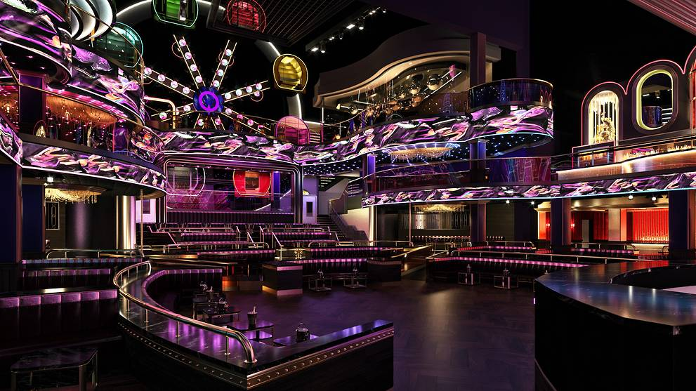 Party inside a Ferris wheel when Marquee Singapore opens at