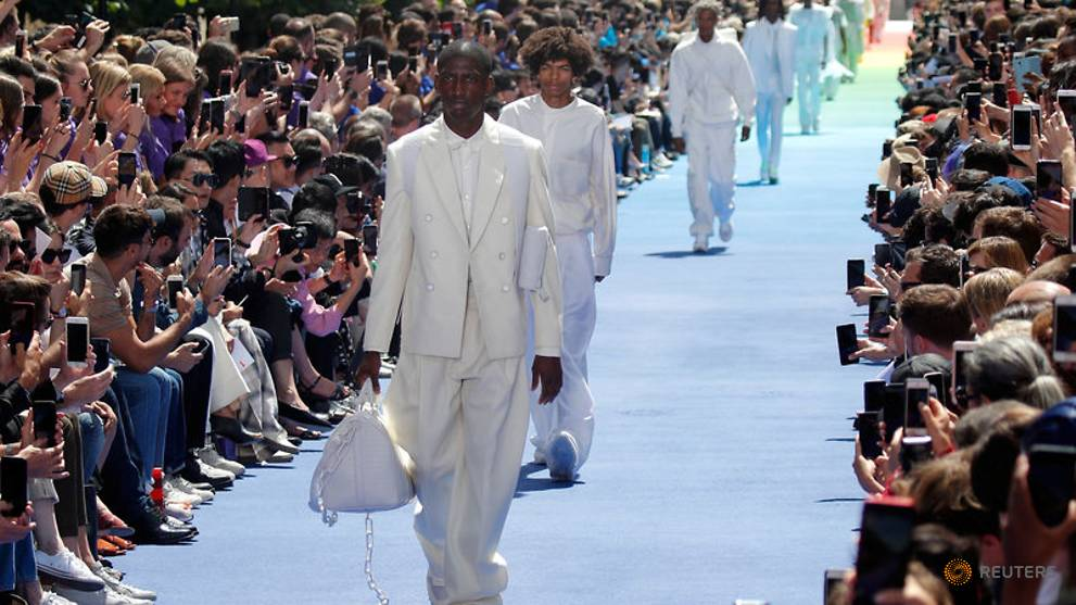 706c144bdeeb Menswear in vogue for luxury brands with designs on growth - CNA