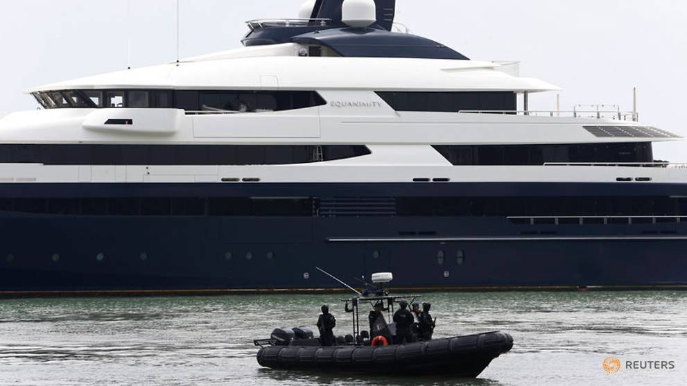 Malaysia Government Free To Sell Equanimity Yacht In 1mdb Scandal
