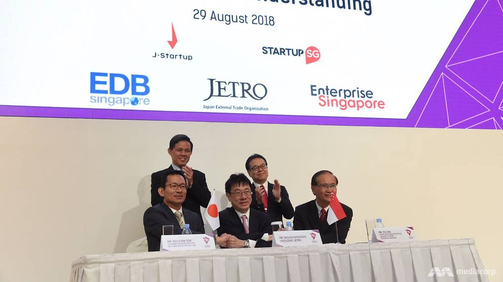 Singapore, Japan sign agreement to bolster support for start