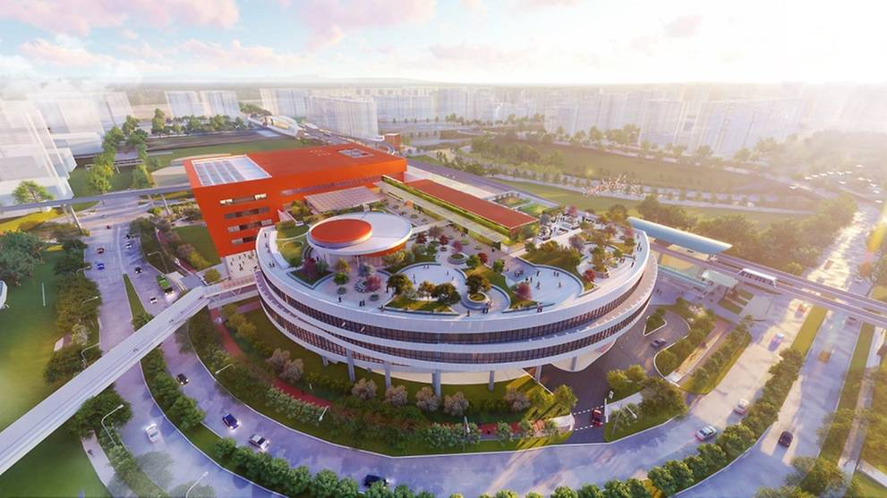 New Punggol Town Hub To Open In 2021 With Hawker Centre