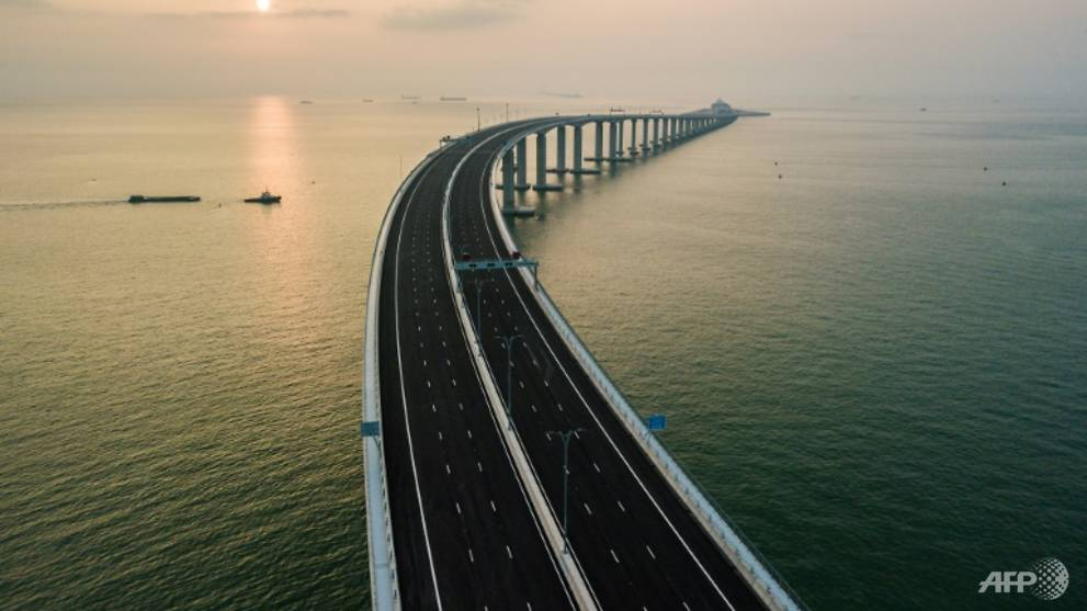 Commentary: China dreams big with the world's longest sea bridge - CNA