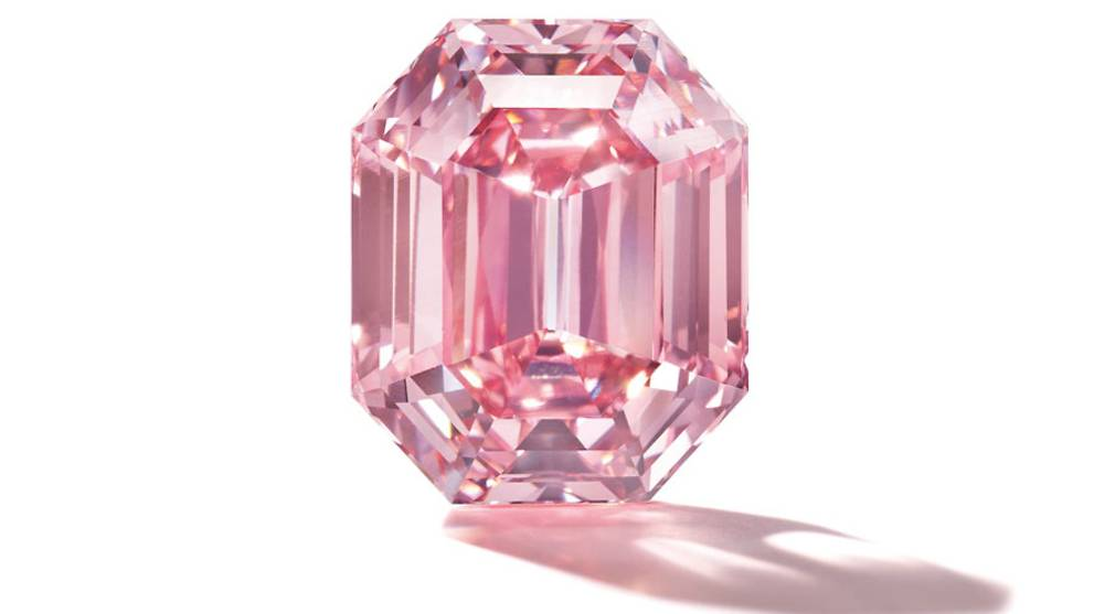 A pink diamond for S$69 million? Here's