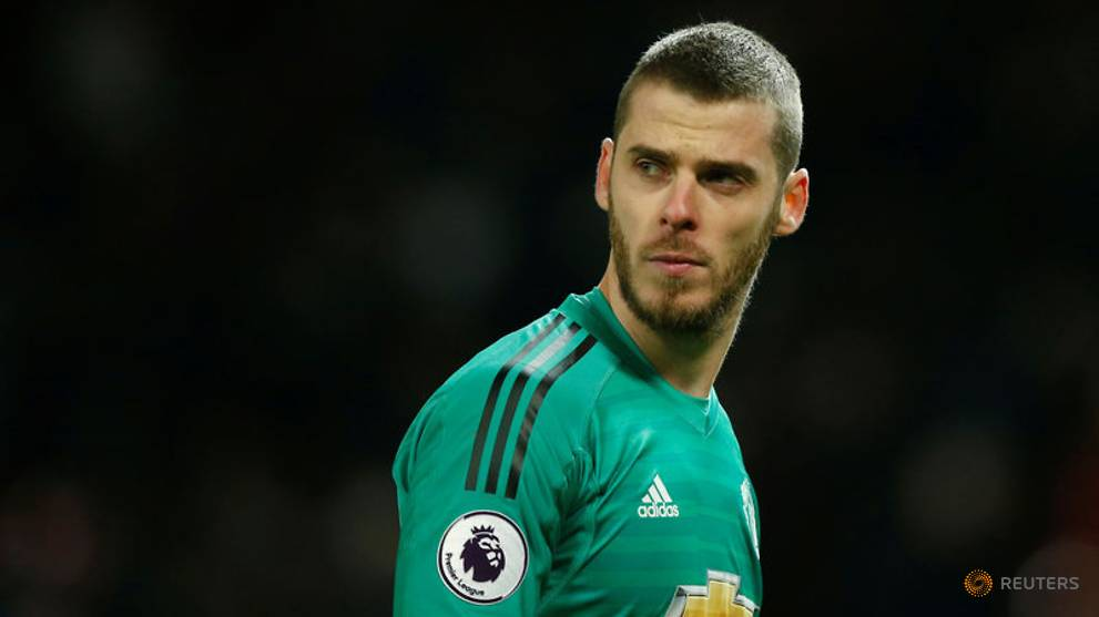 396c5d872b0 'World's best keeper' De Gea wants to stay says Mourinho - CNA