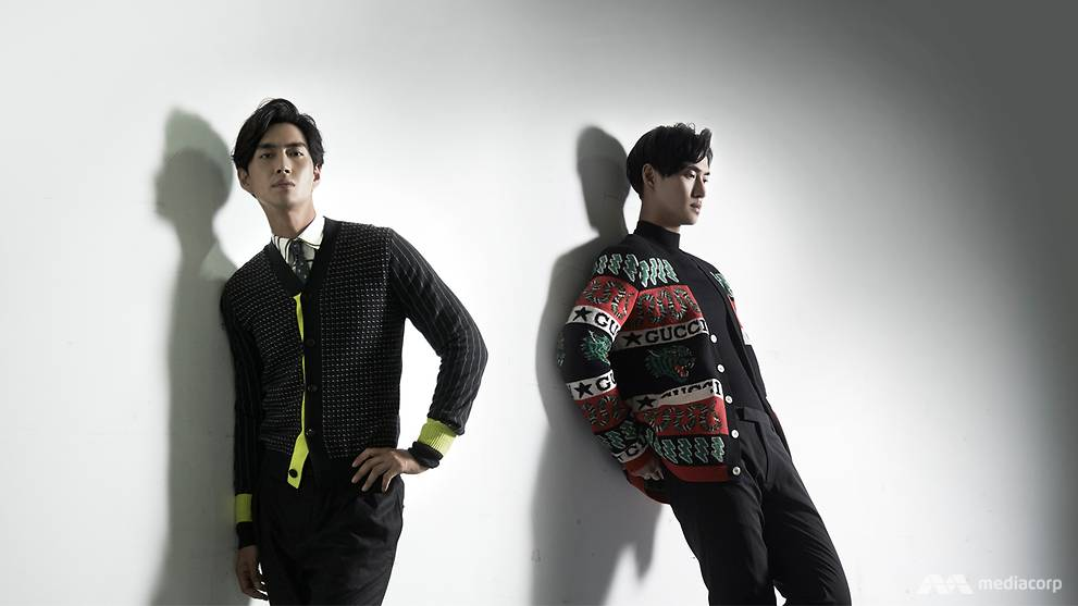 896ccafb445 The cardigan elevates your dapper style – just ask Hyun Bin and Song Joong  Ki - CNA