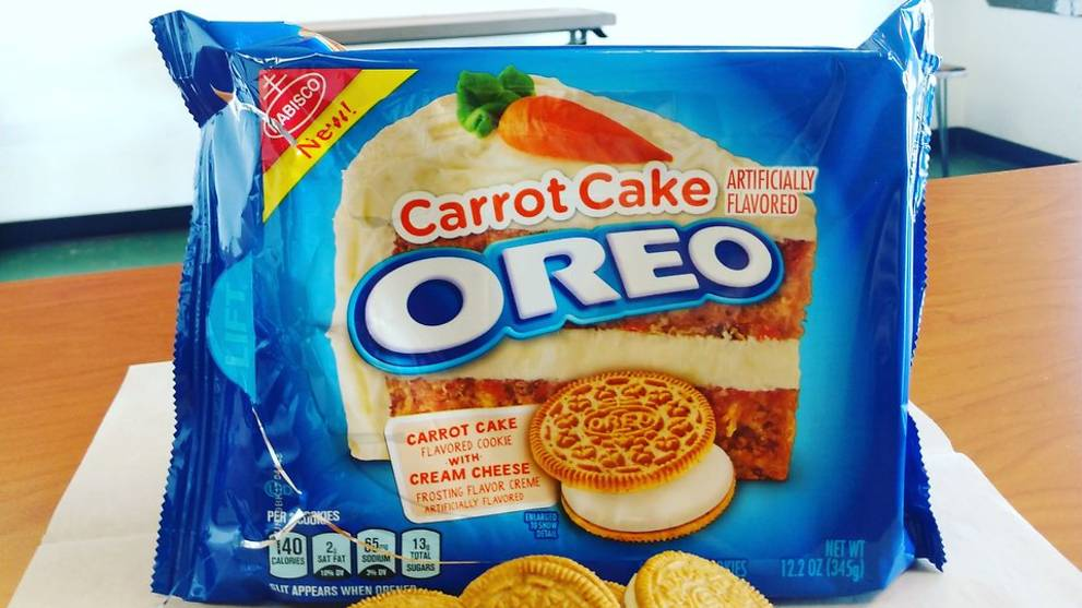 Carrot Cake Oreos No Not Chai Tow Kway Introduced In The Us Cna
