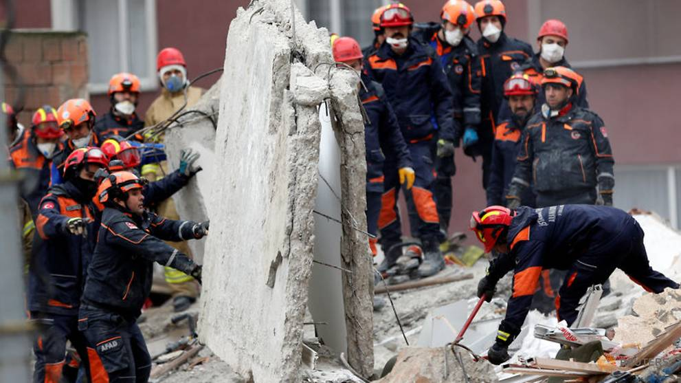 Death Toll In Istanbul Building Collapse Rises To 6 Governor