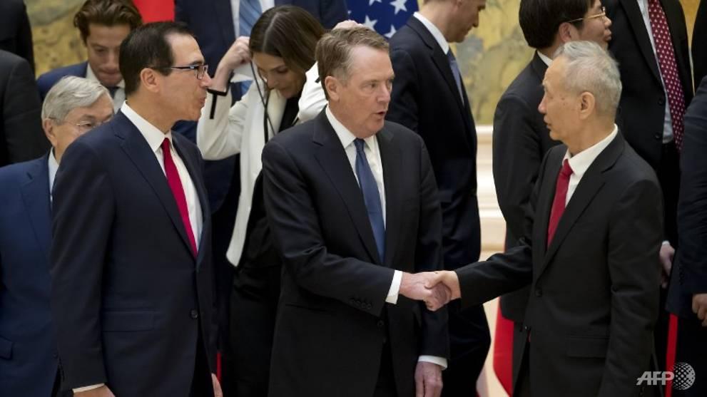 US-China trade talks to resume next week, Trump hints at extension
