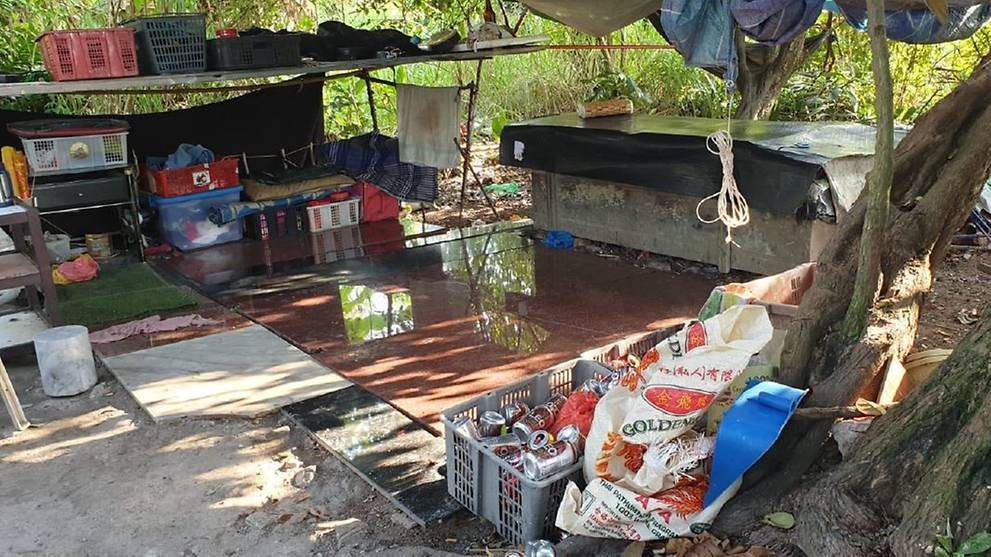 6 Myanmar nationals arrested in cemetery for immigration