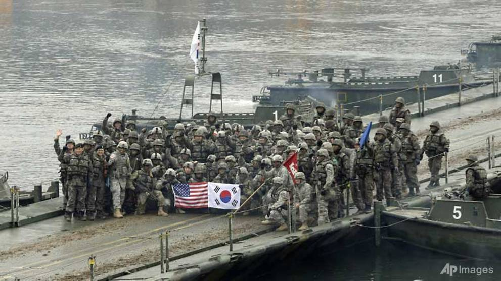 US-South Korean military exercise to proceed - CNA