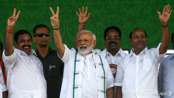 Modi swept to power in 2014 pledging to modernise India and create jobs