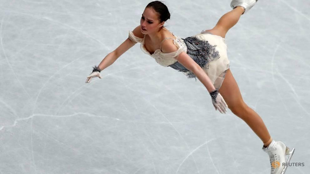 05dd81057f Olympic champion Zagitova leads ladies short programme at worlds - CNA