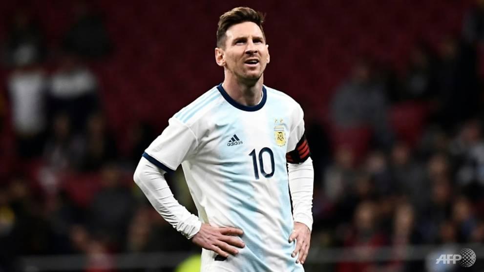 Football: Venezuela down Argentina on Messi return  - Channel NewsAsia