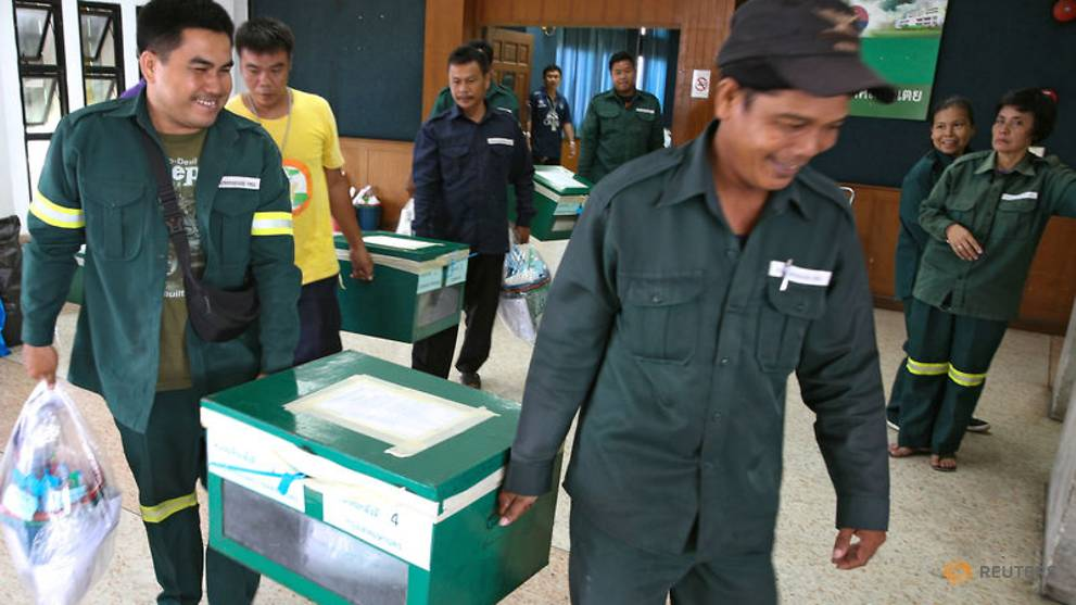 Thailand votes in first election since 2014 coup, marking end to military rule