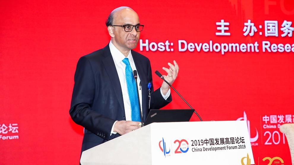DPM Tharman renews call for cooperative international order at Beijing forum