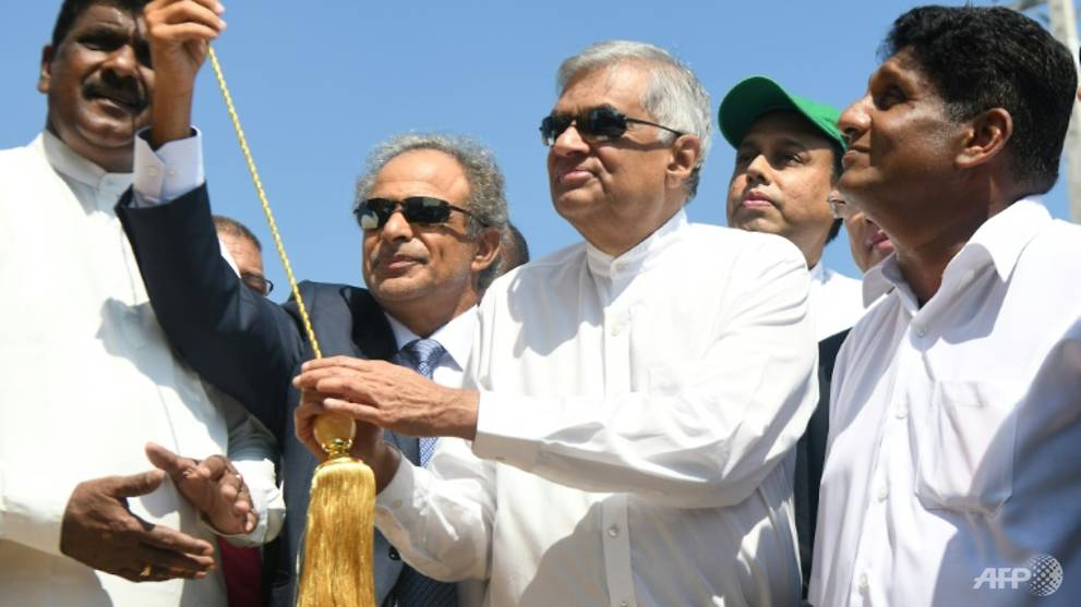 Sri Lanka opens work on US$3.85 billion refinery near strategic port