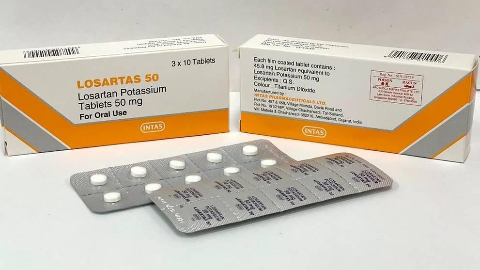 HSA recalls 3 brands of high blood pressure drugs - Lite