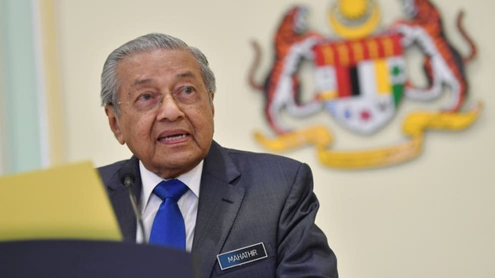 Ruling party can reject chief minister picked by sultan, says Malaysia PM Mahathir