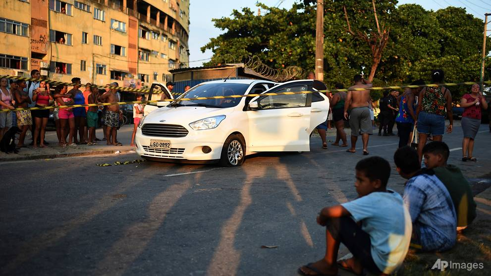 Brazil military shoots into car of family driving to baby