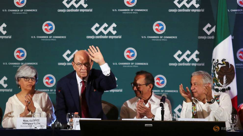 Mexican and U.S. business leaders on Friday pushed back against President Donald Trump's threats to close the U.S.-Mexico border and urged him to drop steel tariffs that have hindered the ratification of a trade deal brokered last year.
