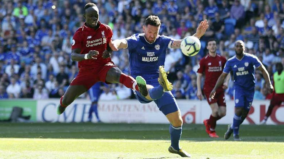 Image result for liverpool cardiff mane