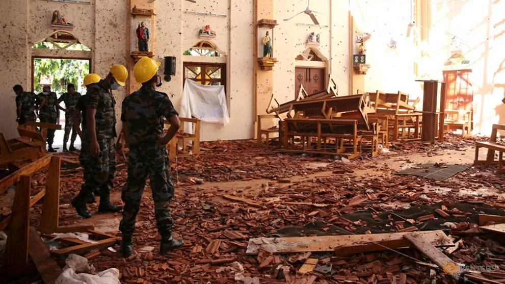 Sri Lanka president vows to eliminate terror threat after Easter Sunday bombings