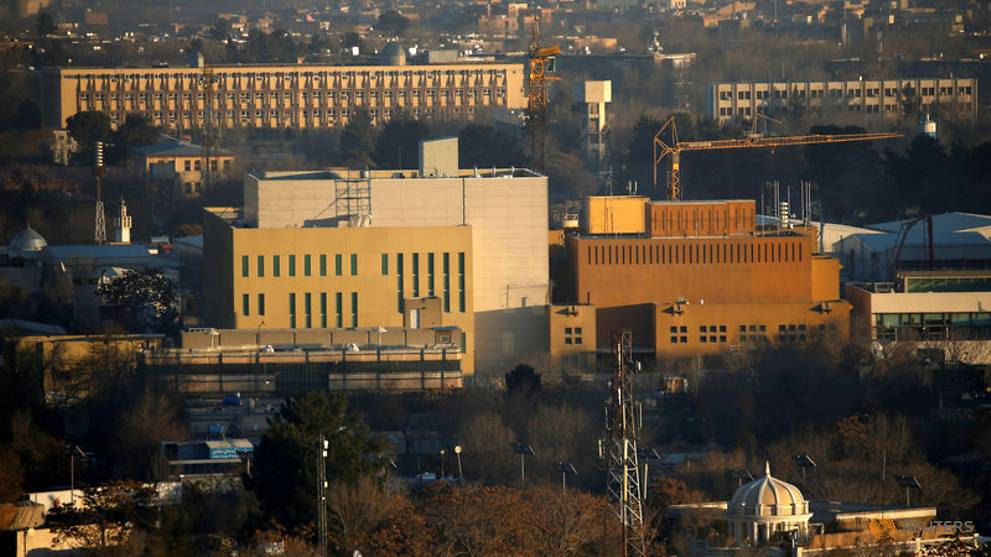 US requires embassy staff in Afghanistan to telework amid COVID-19 outbreak