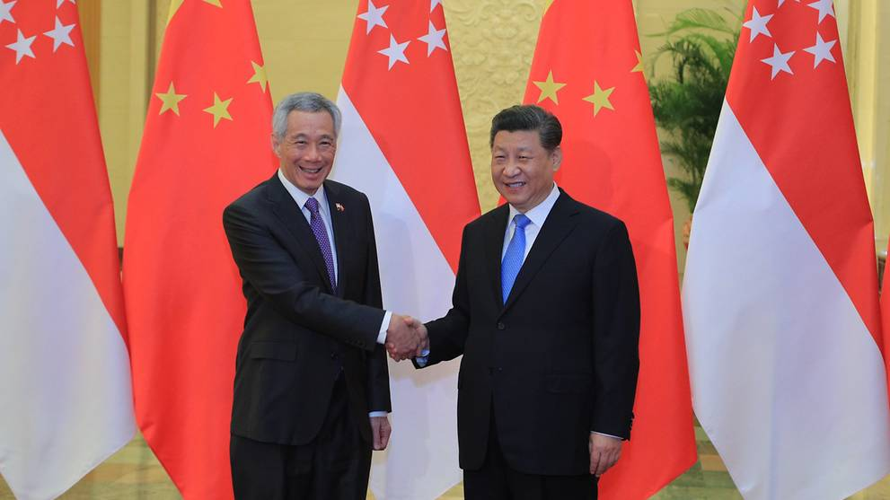 Singapore leaders congratulate China on 71th anniversary of founding