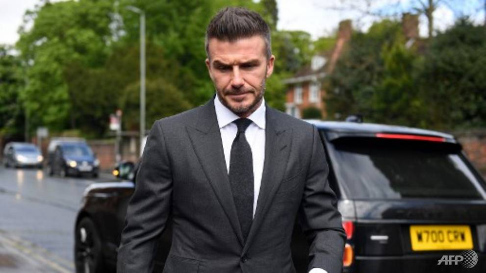 Hands Off The Wheel David Beckham Banned From Driving Asean