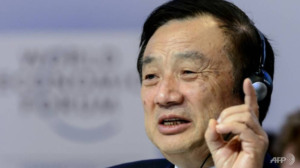 Huawei will not bow to US pressure, says founder Ren Zhengfei