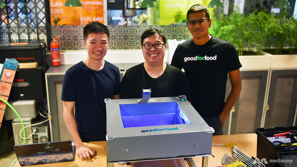 From finance undergrad to food waste warrior, with a made-in-Singapore invention