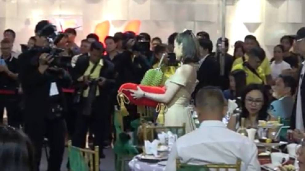 Single durian sells for US$48,000 at Thai auction - CNA