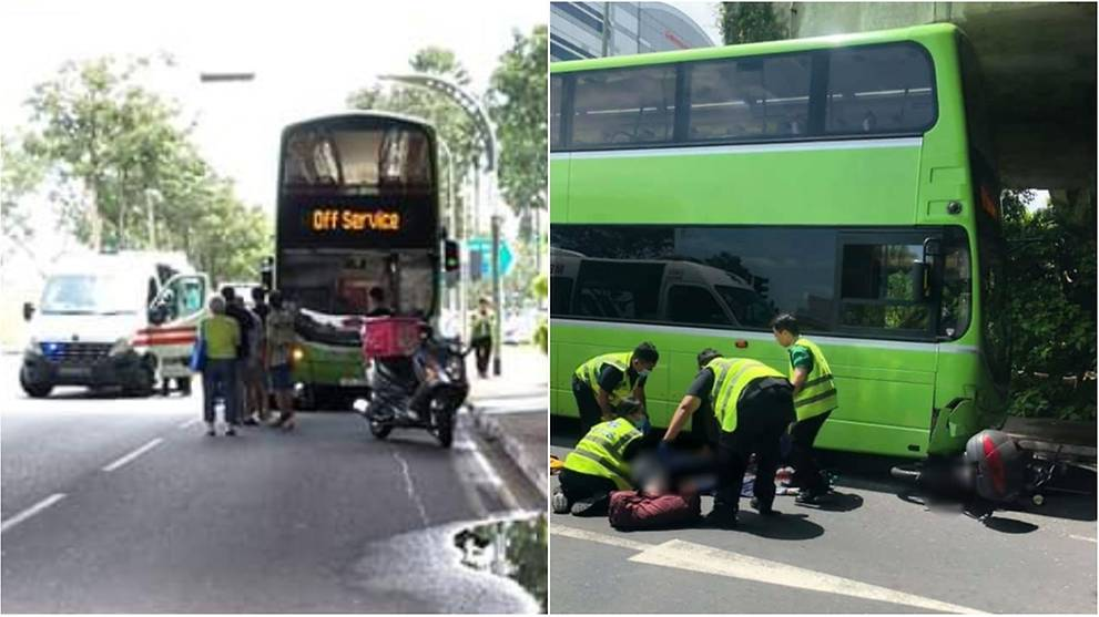 Motorcyclist Dies After Accident With Bus In Jurong Cna