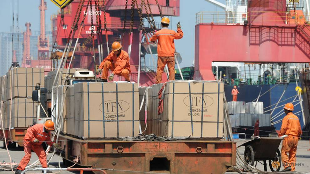 China surprises with best export growth since March, but imports