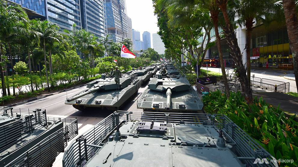 NDP 2019: Mobile column to visit heartland areas on Aug 10 - CNA