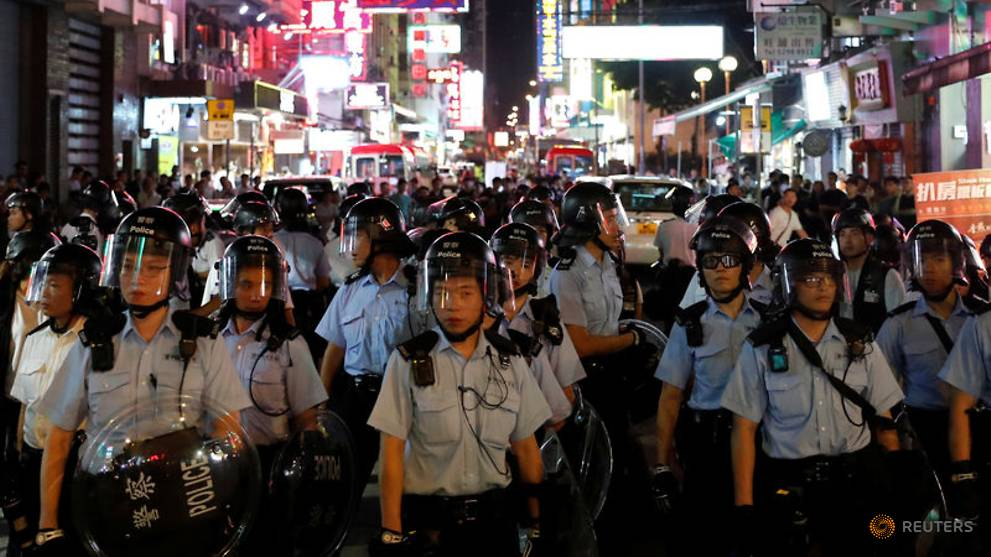 Hong Kong police officers' children 'intimidated and bullied