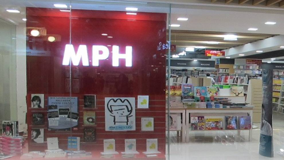MPH's two remaining bookstores in Singapore to close by September - CNA