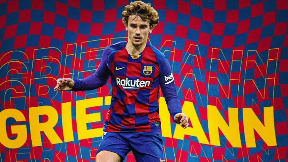 reputable site 27351 759a5 Football: Antoine Griezmann signs for Barcelona - CNA