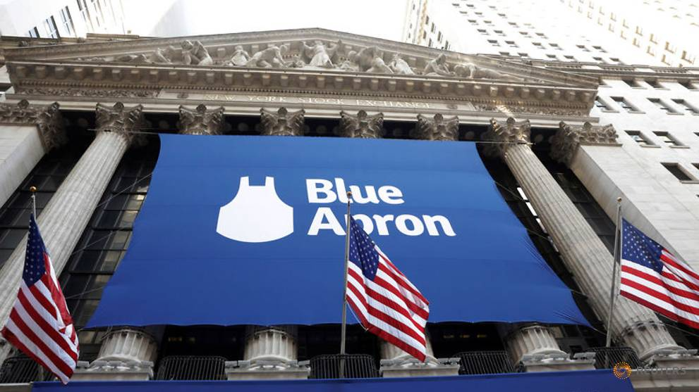 Blue Apron beefs up menus with Beyond Meat burgers, shares