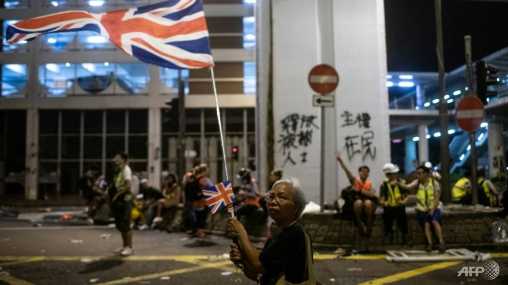 China says it will 'not tolerate foreign forces' in Hong Kong - CNA
