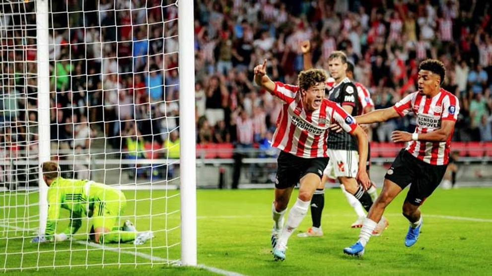 Football: PSV scrape past Basel with two late goals - CNA