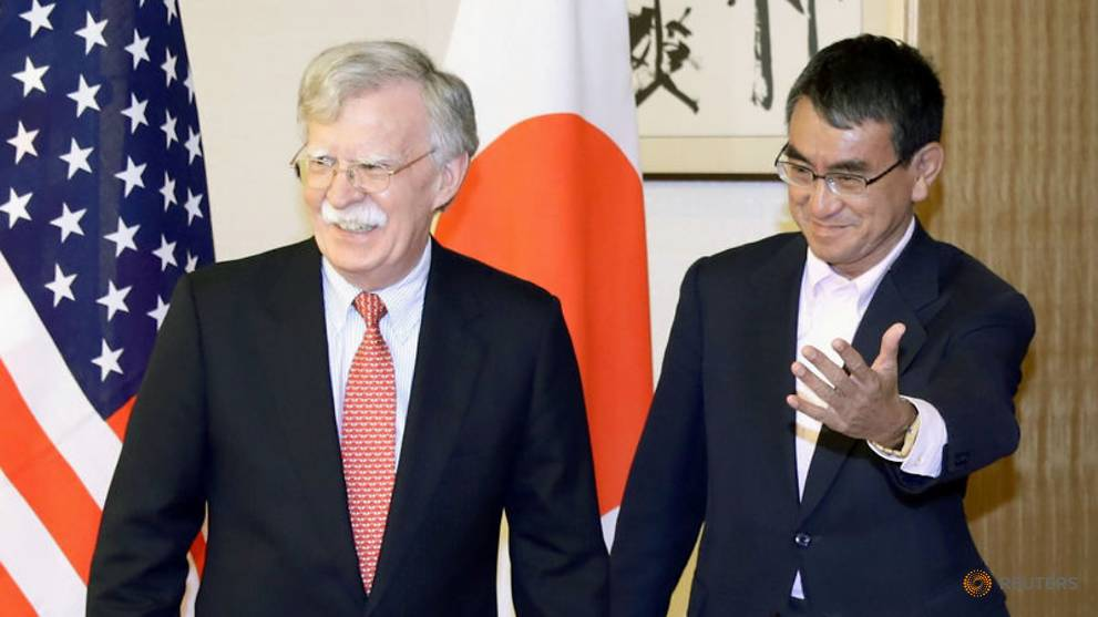 US security adviser Bolton meets South Korean officials to