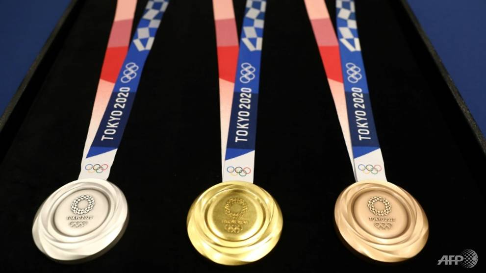 Going for gold: Tokyo unveils 2020 Olympics medal designs - CNA