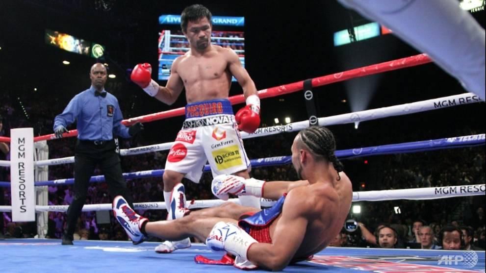 Boxing: Want to stay relevant? Fight me, Pacquiao tells Mayweather - CNA