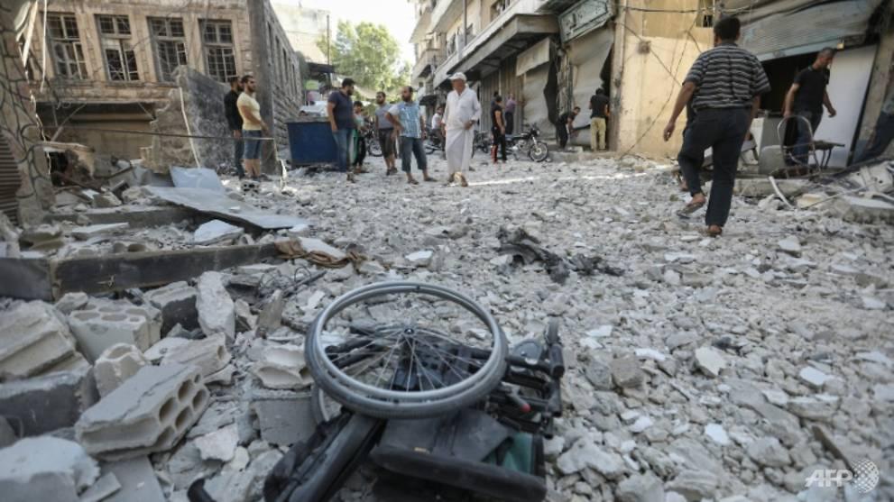 Israeli strike hits airbase in Syria's Homs - CNA