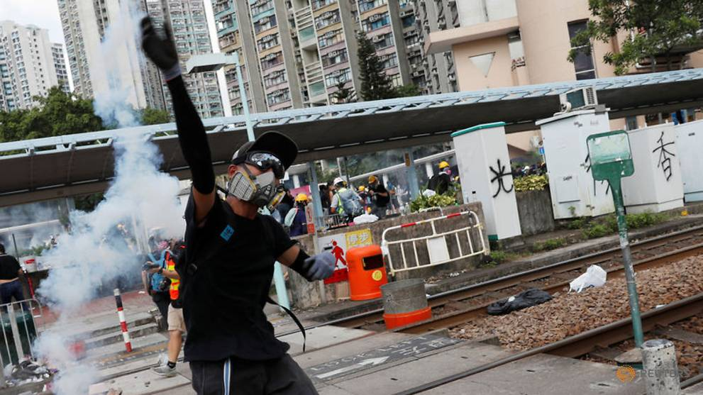 Commentary: How Hong Kong protesters have been dominating the battle