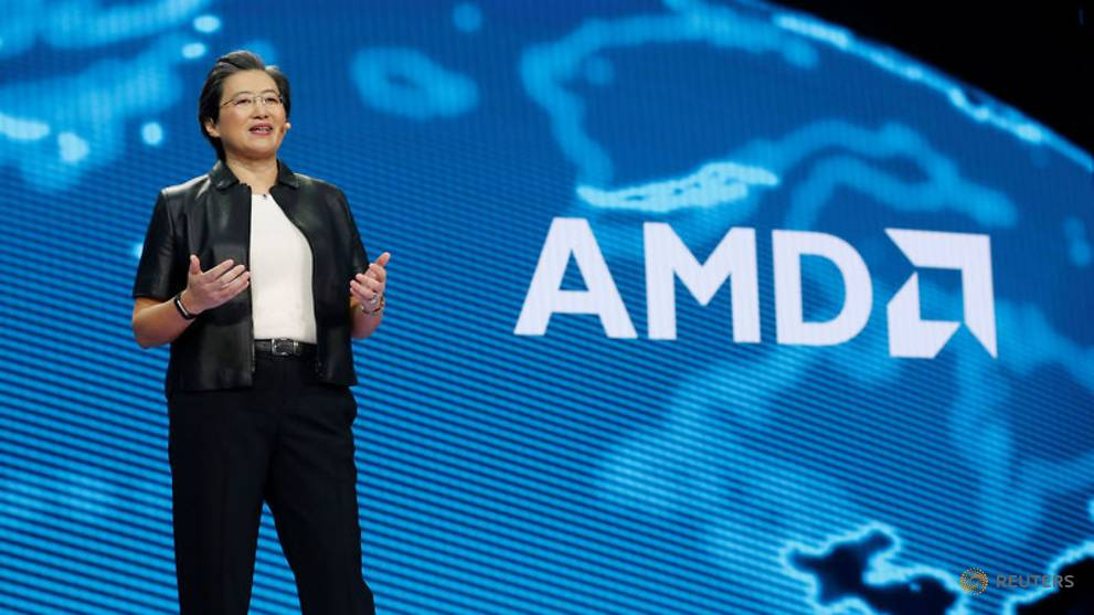AMD lands Google, Twitter as customers with newest server chip - CNA
