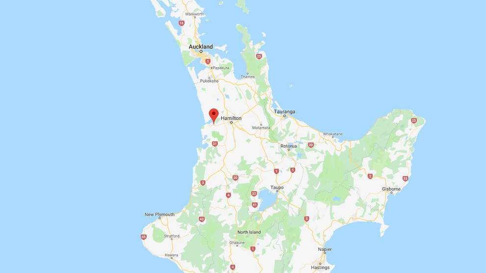 Hastings New Zealand Map.Australian Tourist Shot Dead In New Zealand Manhunt Launched Cna