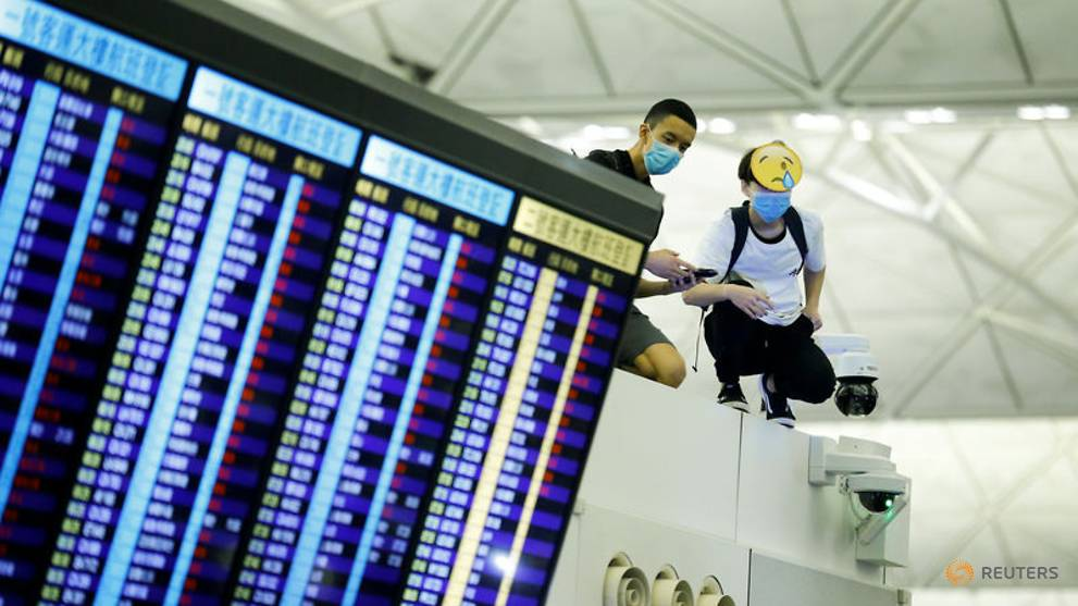 Hong Kong airport operating normally despite planned 'stress test' protest